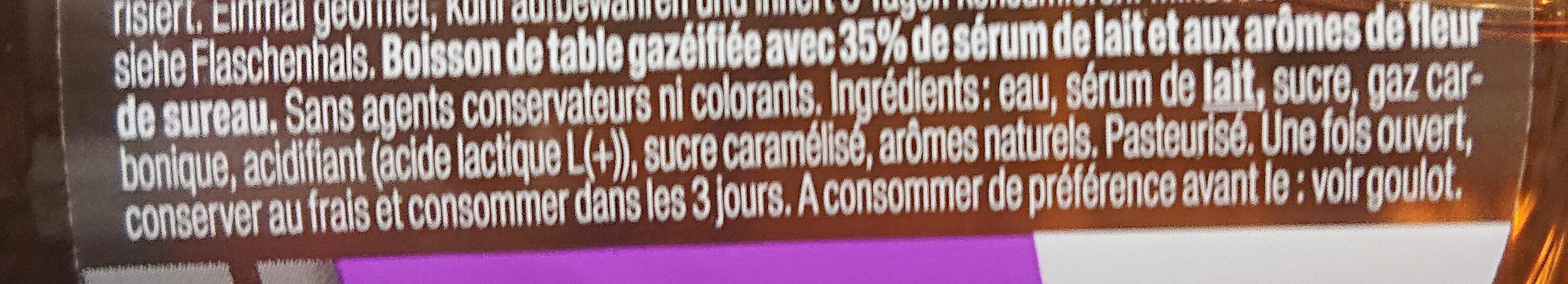 Rivella fleur de sureau - Ingredients - fr