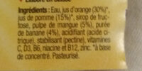 Sunshine - Ingredienti - fr