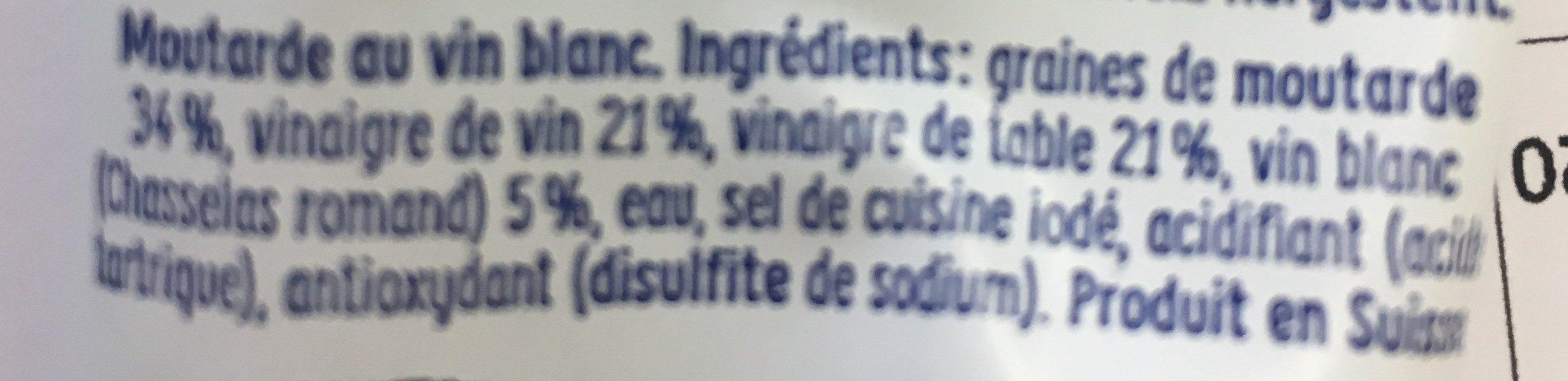 Moutarde De Dijon Thomy 100 Gr, 1 Tube - Ingredienti - fr