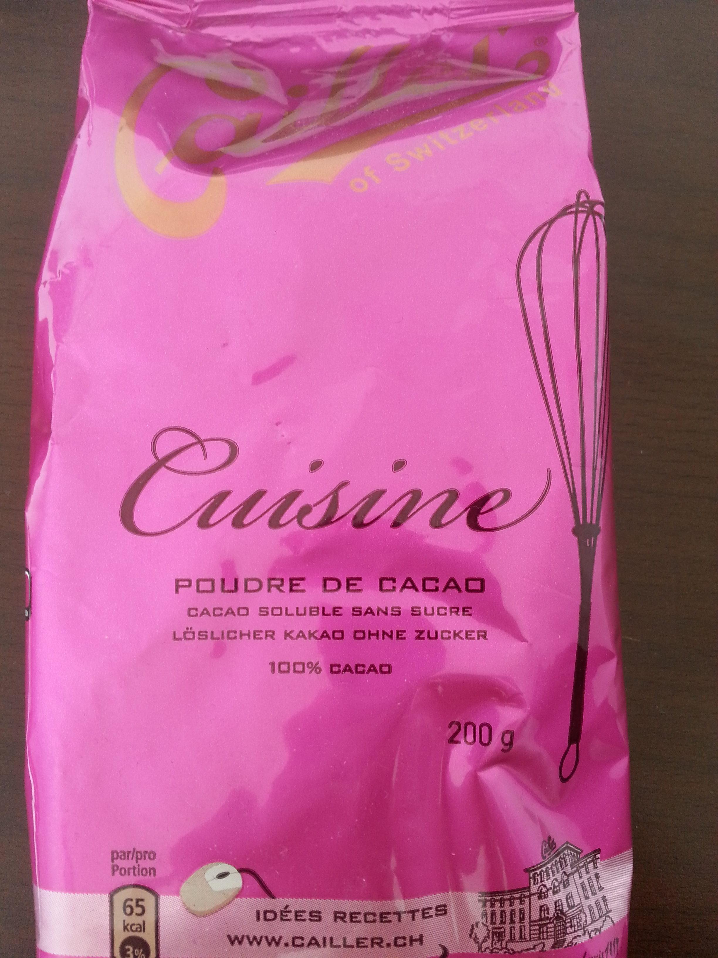 Poudre de cacao - Prodotto - fr