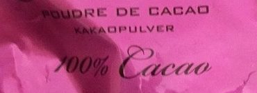 Poudre de cacao - Ingredienti - fr