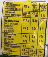 Mayonnaise à la française - Informations nutritionnelles - fr