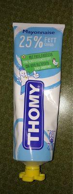 Thomy Mayonnaise 25% matière grasse - Produit