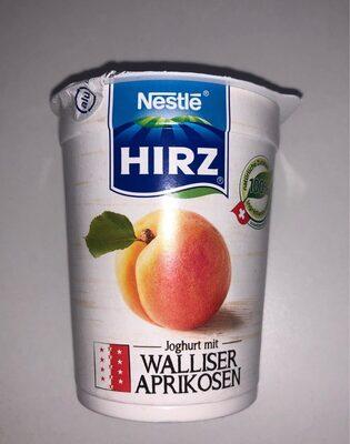 Yogourt avec abricots du Valais - Product - fr
