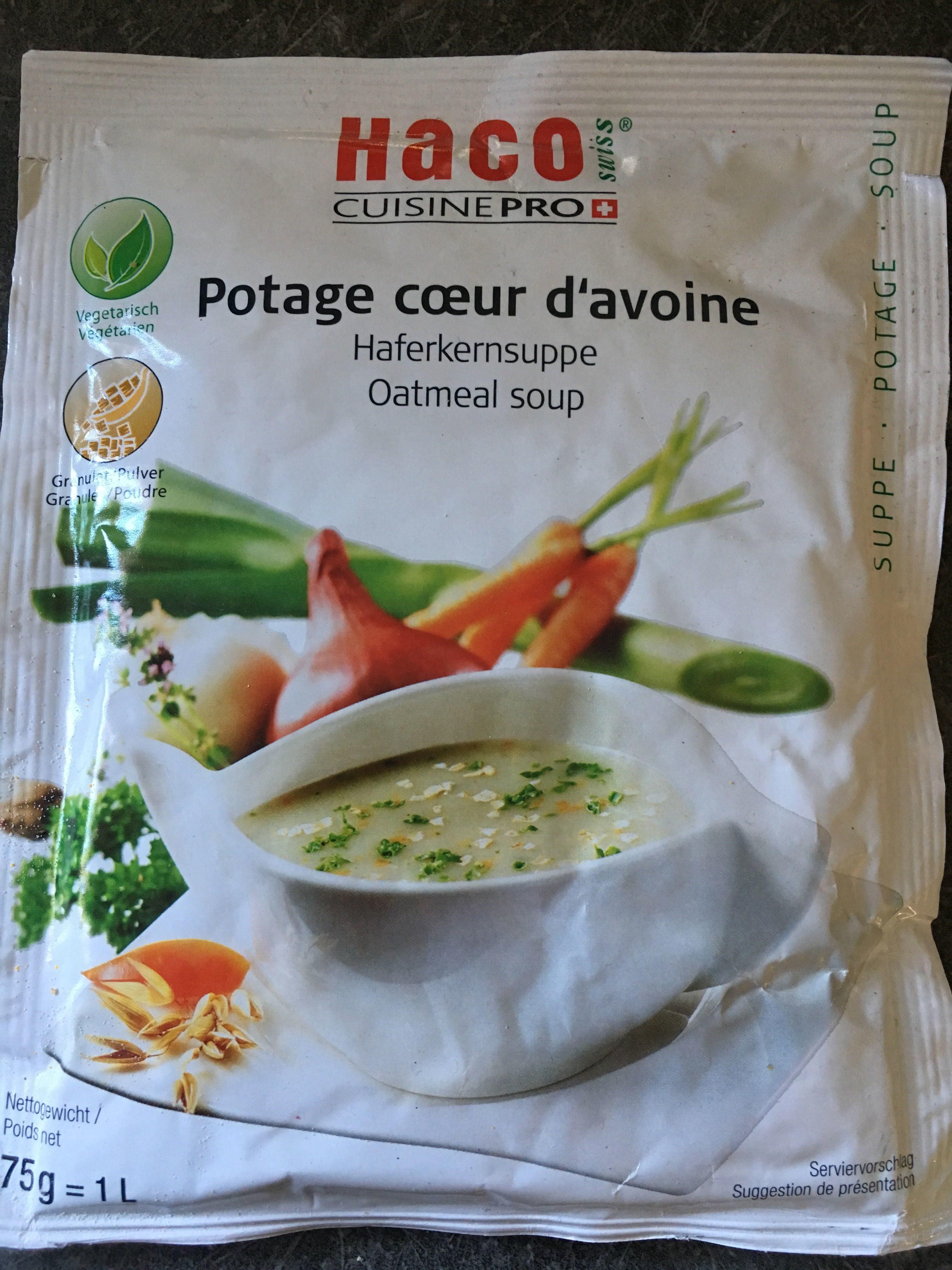 Potage cœur d'avoine - Product