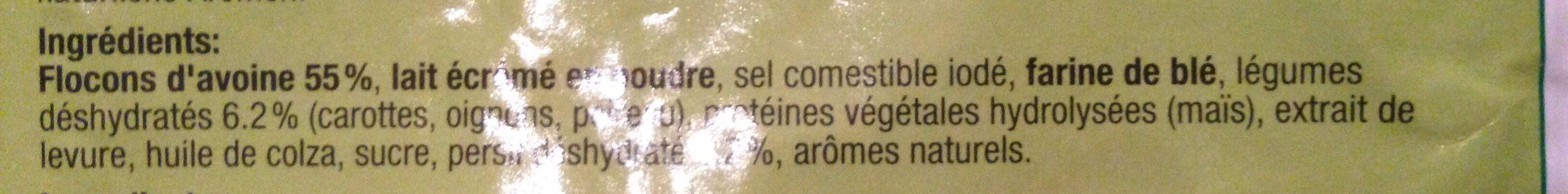 Potage cœur d'avoine - Ingrediënten