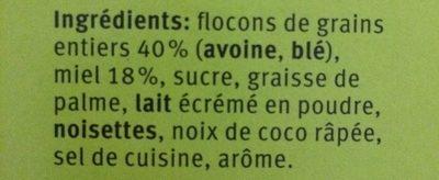 Farmer, Honig - Ingredients