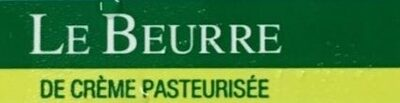 Le Beurre - Ingredients - fr