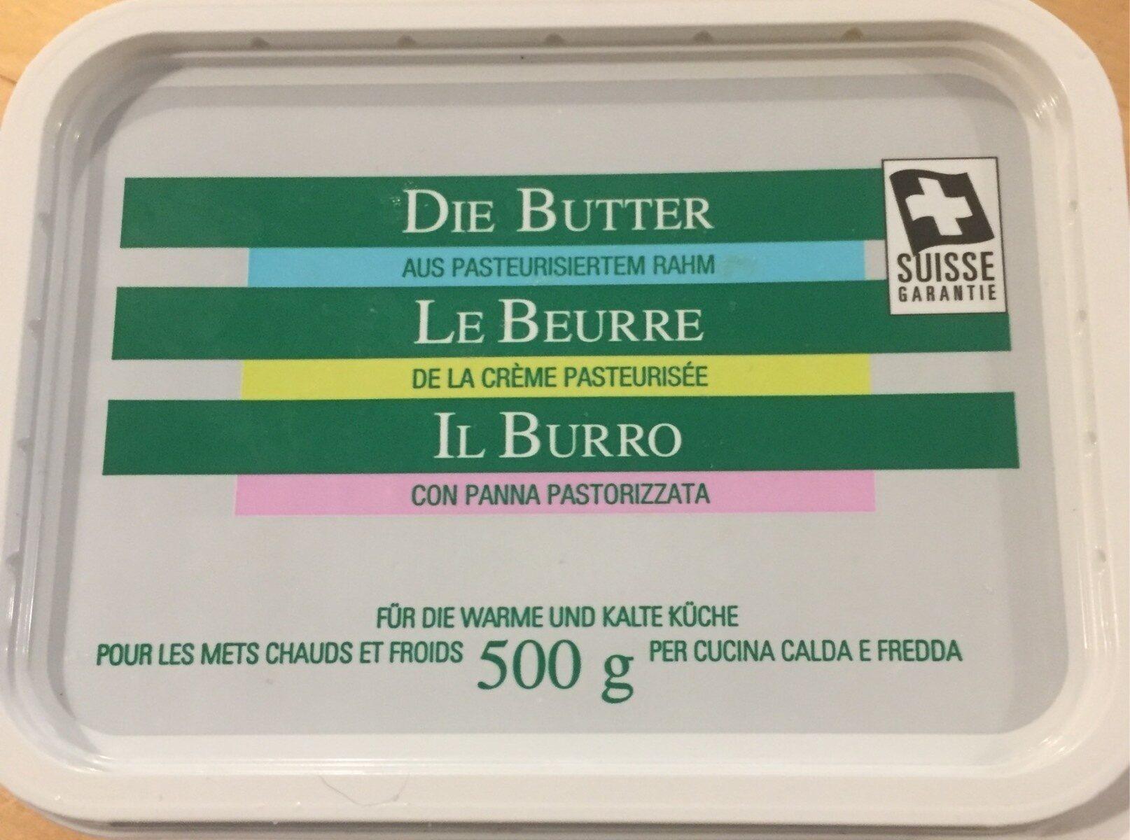 Le beurre - Product - fr