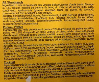 Sal Sita Party - Ingredients - fr