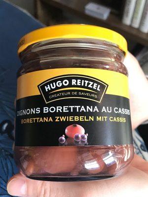 Oignons Borettana Au Cassis - Product