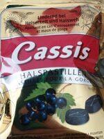 Cassis pastille pour la gorge - Produit - fr