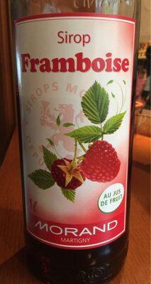 Sirop Framboise Au Jus Fruit Morand 1 L, 1 Litre - Prodotto - fr