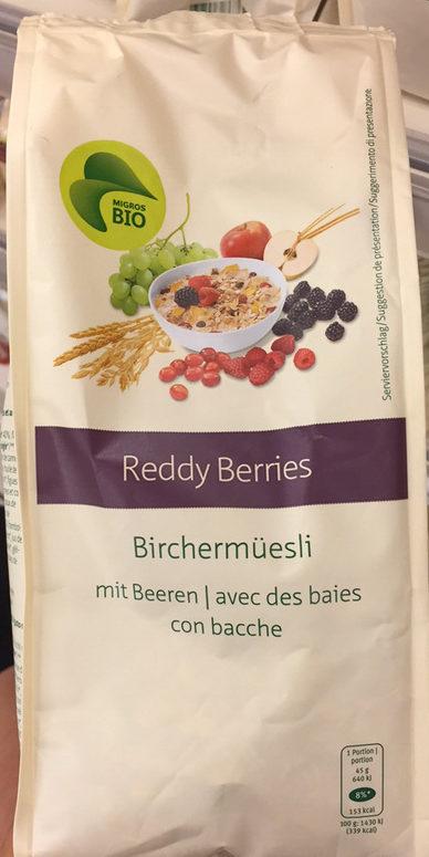 Reddy berries Birchermüesli - Product