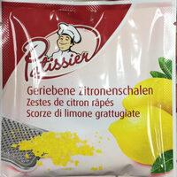 Zestes de citron râpés - Prodotto - fr