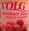 sirop de framboise - Product