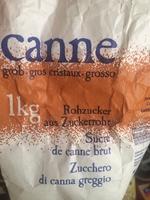 Canne - sucre de canne brut - Product