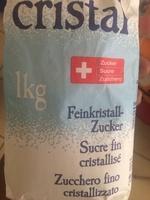 Zucchero fino cristallizzato - Prodotto