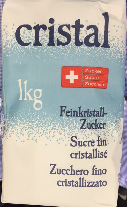 Feinkristall-Zucker - Produkt