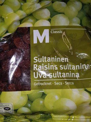 M classic Raisins Sultanines Clair Migros 300G - Produit - fr