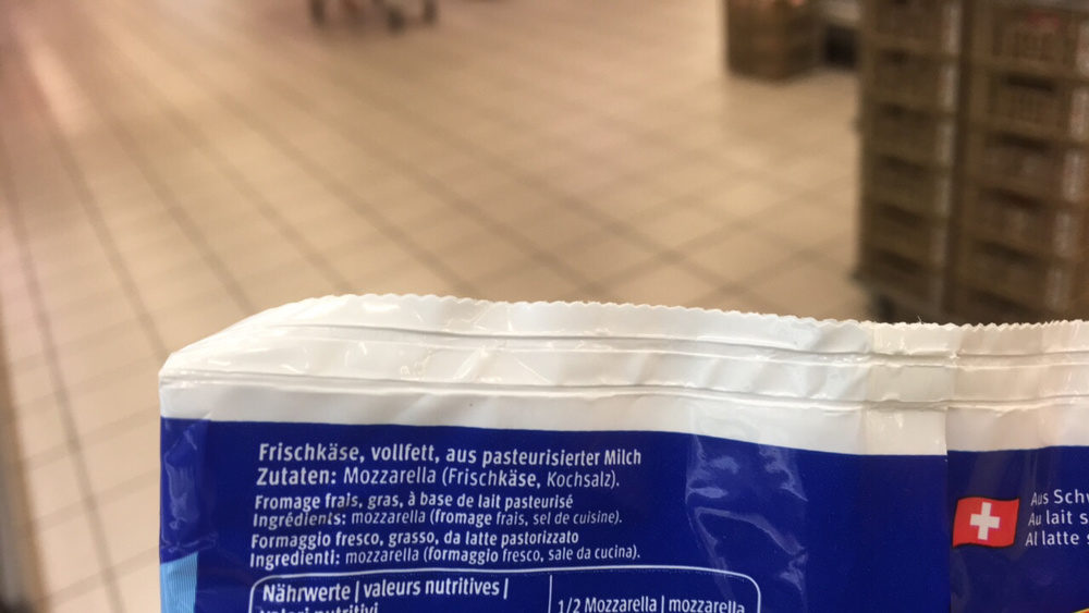Mozzarella Alfredo - Ingredients - fr