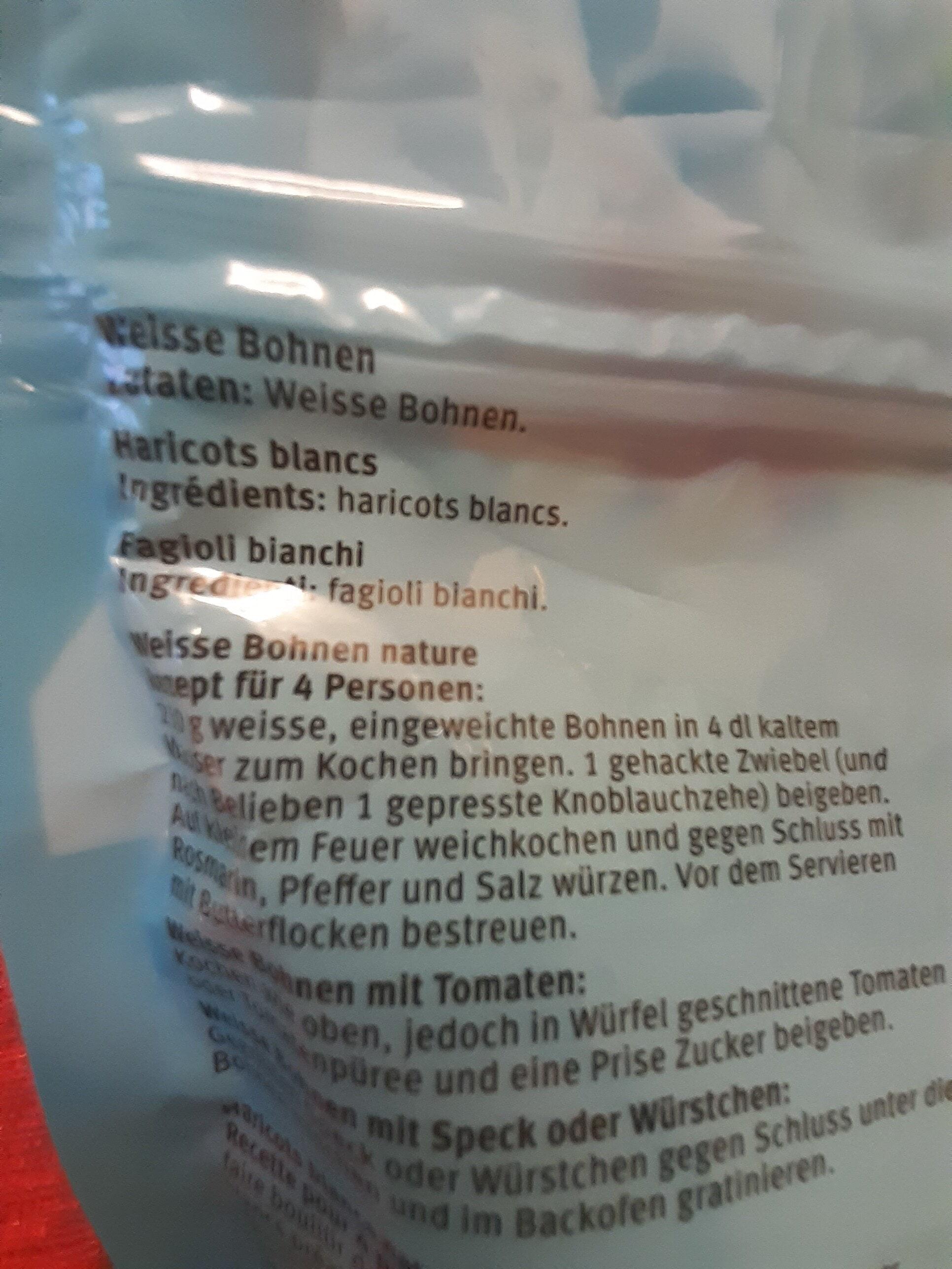 Haricots blancs - Inhaltsstoffe - it