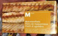 Filets de maquereaux - Produit