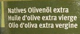 Huile d'olive Extra vierge - Zutaten - fr