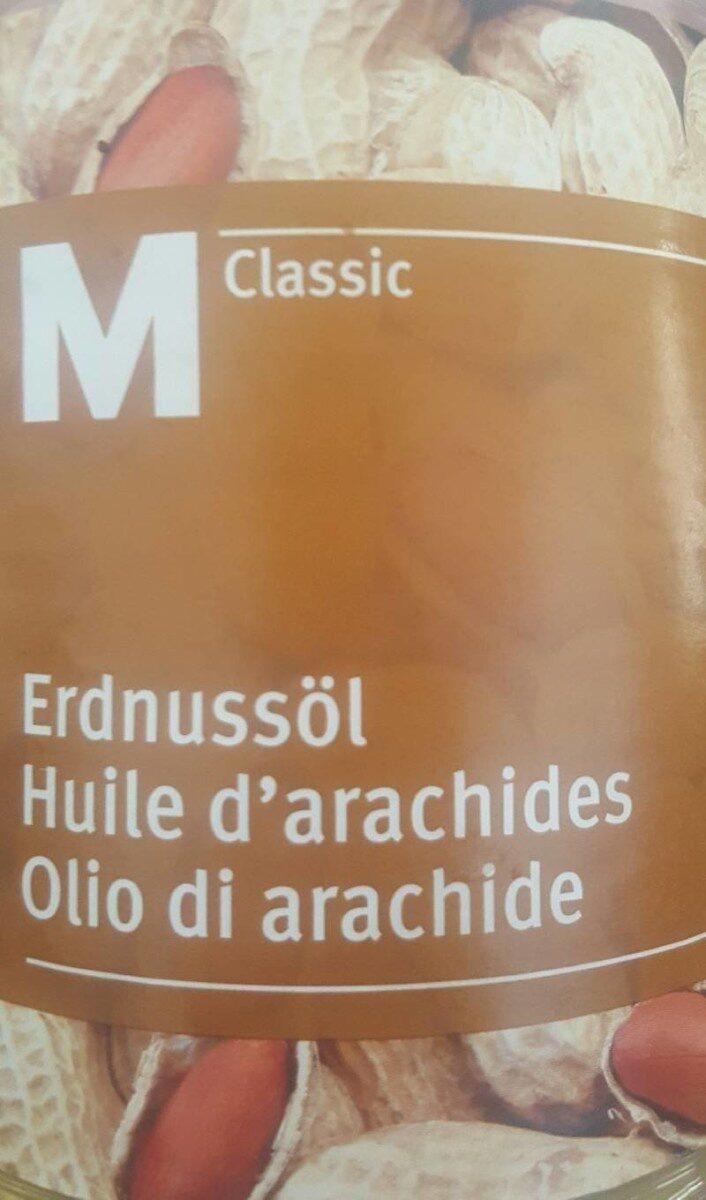 Huile d'arachides - Product - fr
