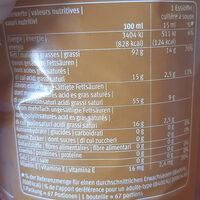 Huile d'arachides - Voedingswaarden - fr