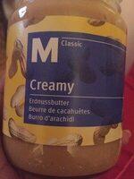 Creamy - Beurre de cacahuète - Prodotto - fr