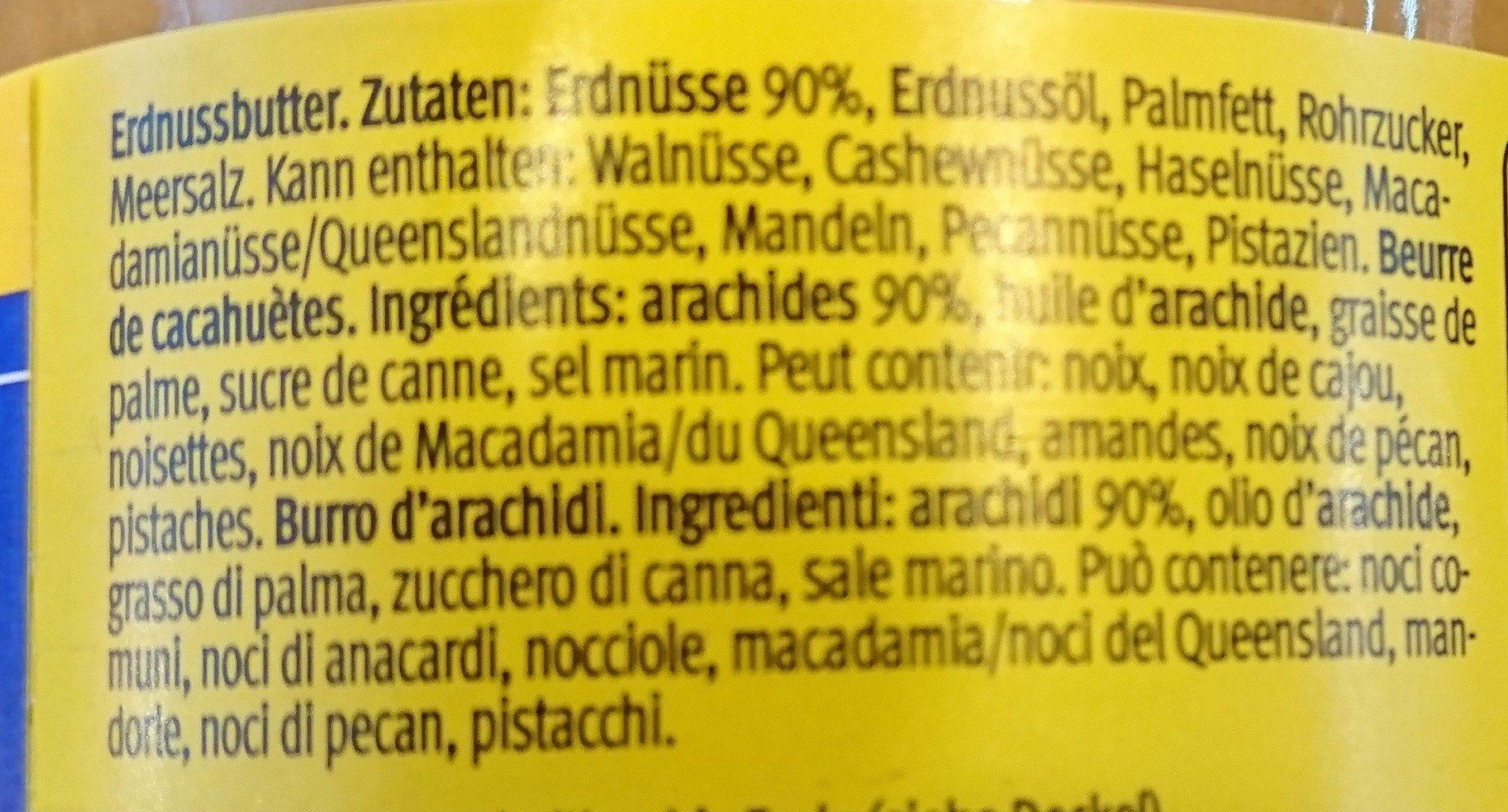 Creamy - Beurre de cacahuète - Ingredienti - fr