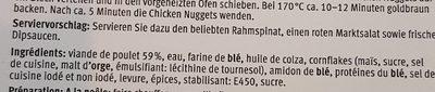 Don Pollo Poulet Nuggets - Ingrediënten