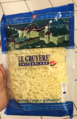 Le Gruyère Switzerland A.O.P., râpé - Product