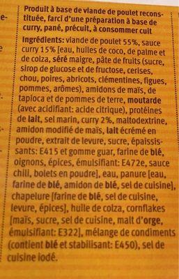 Chicken curry balls - Ingredienti