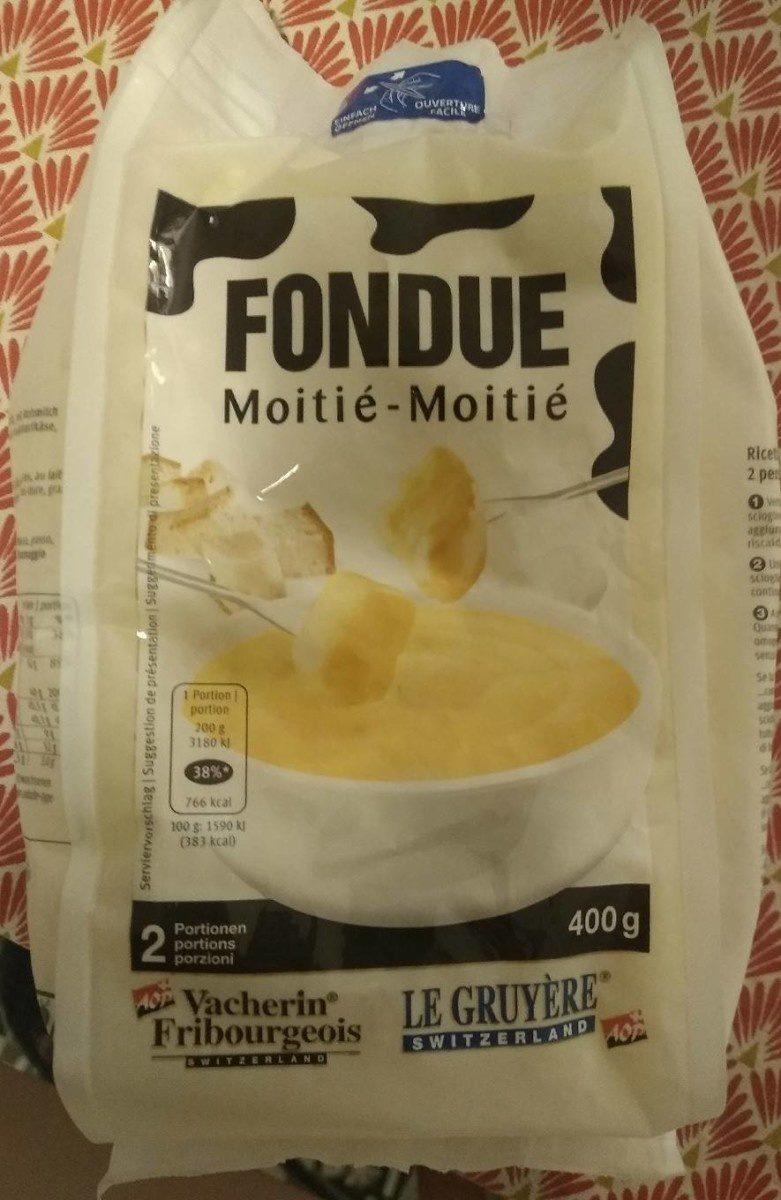 Le Gruyère Switzerland Fondue Moitié-Moitié - Product - fr