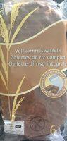 Galettes de Riz Complet Chocolat au Lait - Prodotto - fr