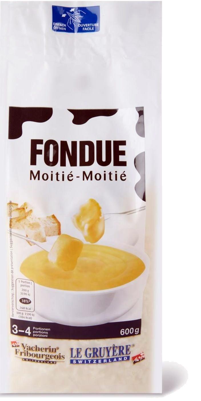 Fondue moitié-moitié - Produit - fr
