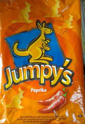 Jumpy's Paprika Snack de pommes de terre au goût de paprika - Product