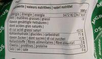 Haushaltmehl - Informations nutritionnelles - fr