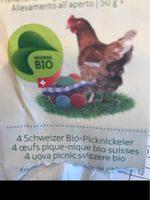 Migros Bio 4 Schweizer Bio eier - Product