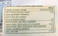 Migros Bio 4 Schweizer Bio eier - Ingredients