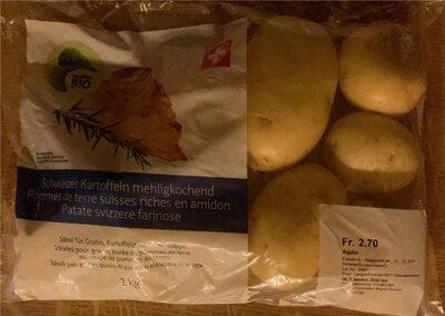 Pommes de terre suisses riches en amidon - Product - fr