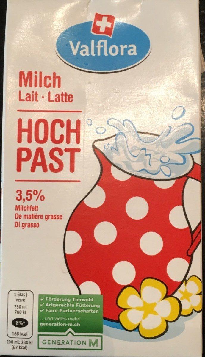 Lait Milch Latte - Hoch past - Product - fr
