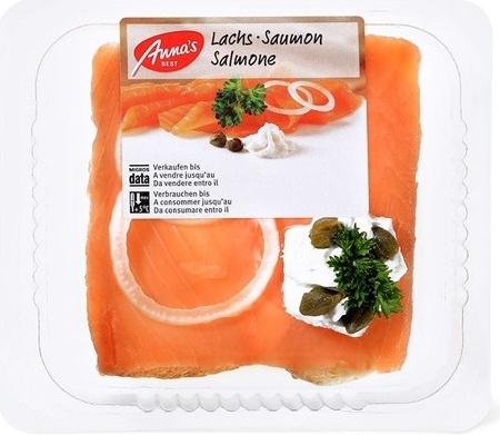 Canapé au saumon - Product