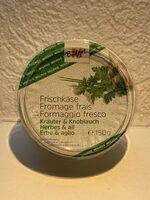 Fromage frais aux herbes - Product - fr