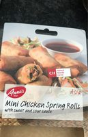 Mini chicken spring rolls - Product