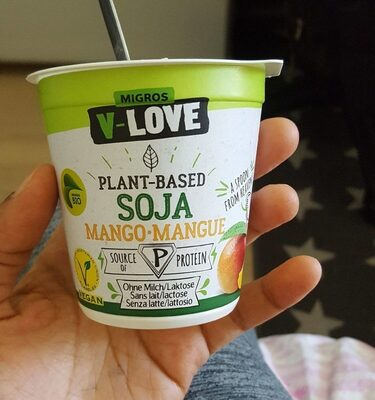 Migros V-LOVE plant based soja mango - Product - fr