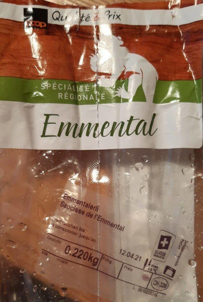 Saucisse de l'Emmental - Prodotto - fr