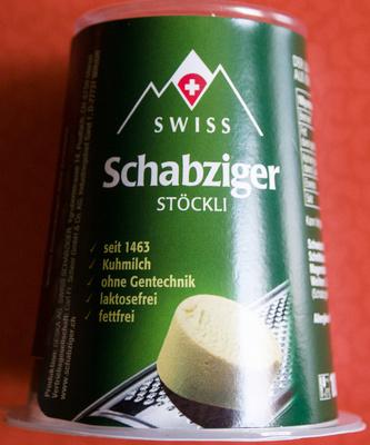 Schabziger Stöckli - Produkt